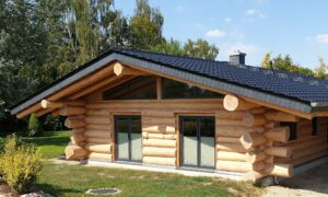 Naturstammhaus / Blockhaus