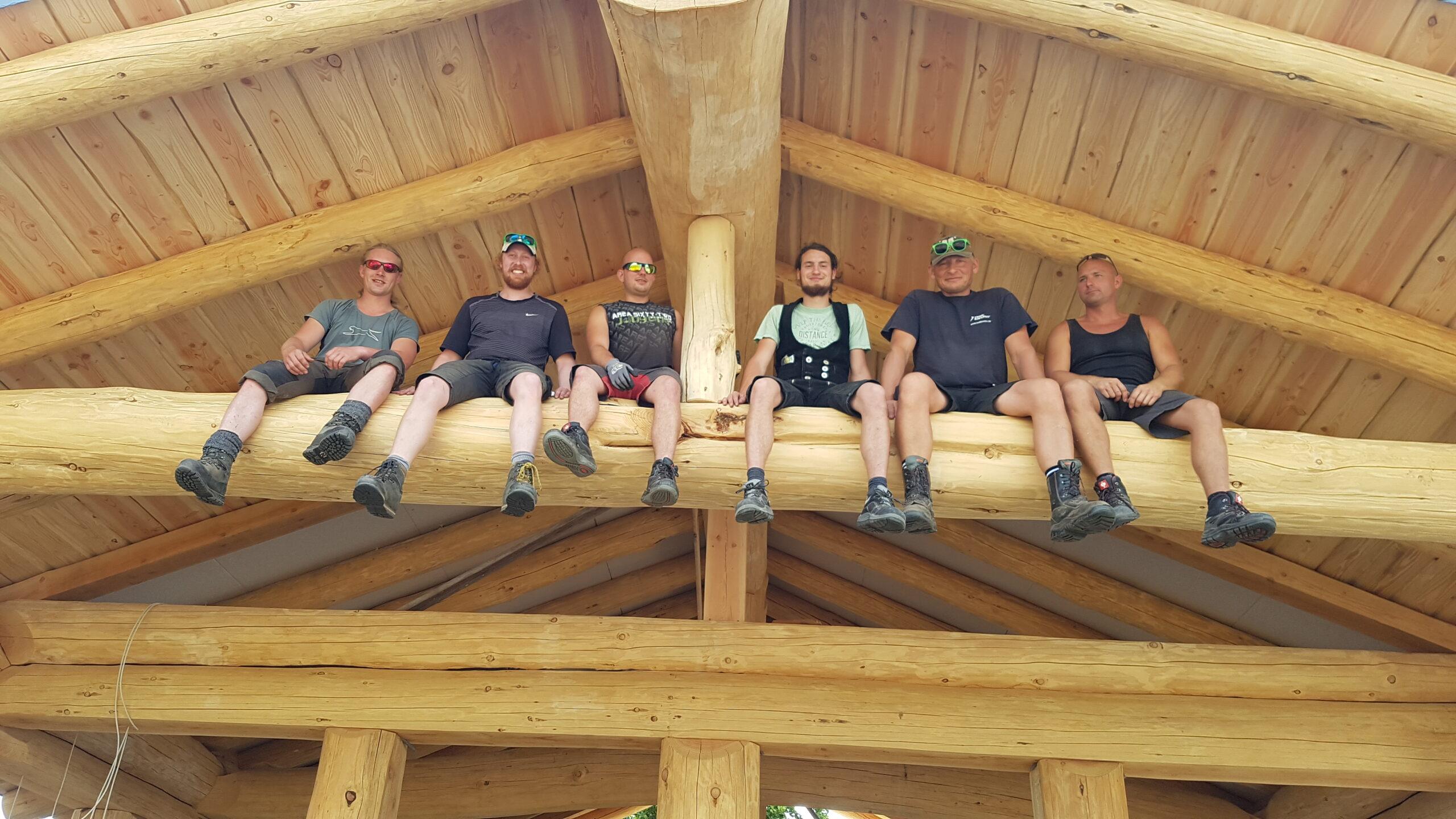 Mätzing Naturstammhaus Team